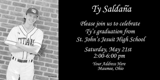 custom designed graduation invitations and announcements by Kurt Nielsen Photography