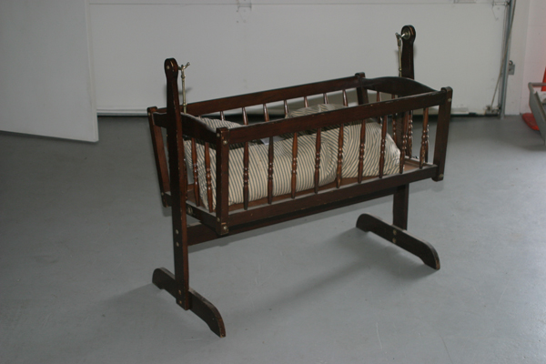 antique baby cradle for sale