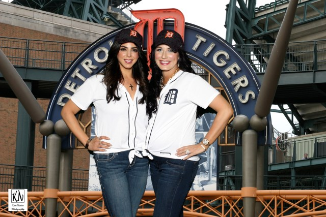 detroit tigers photo booth