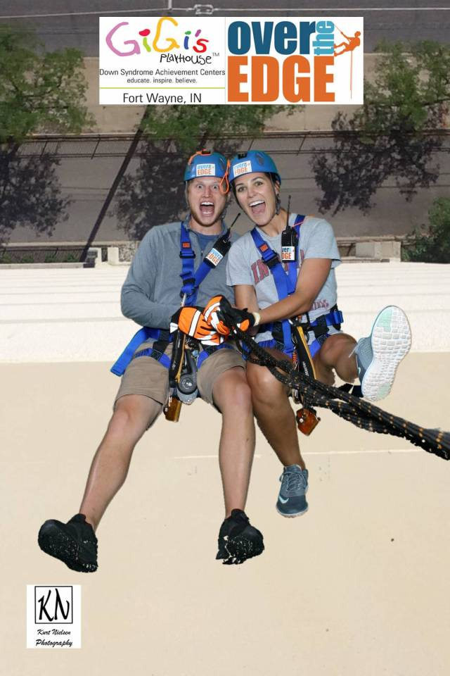 over the edge for gigi's playhouse of fort wayne