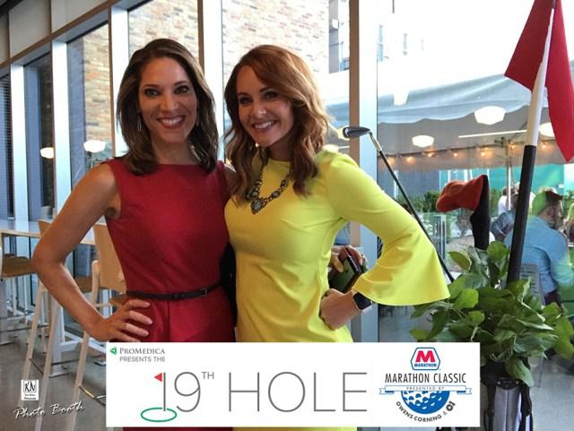 WTOL's Kristi Leigh and Viviana Hurtado