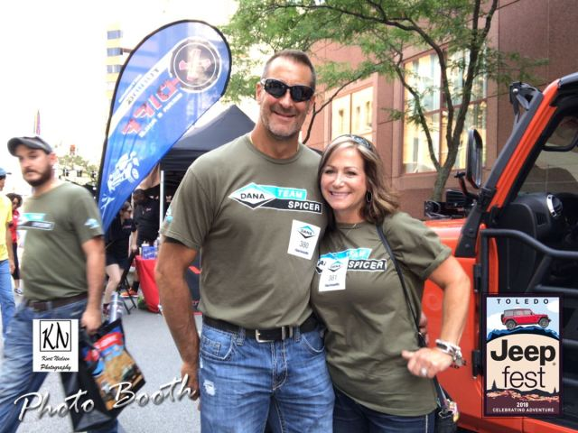 toledo jeep fest parade route photo booth photos