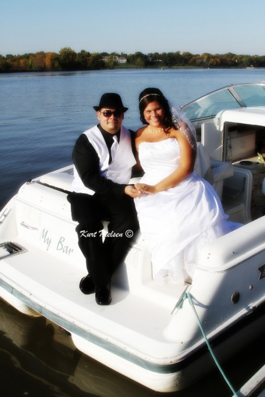 Wedding Pictures with Boats