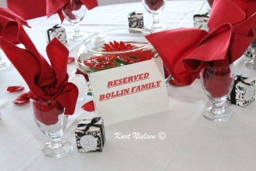 Reserved for Family Signs for Tables