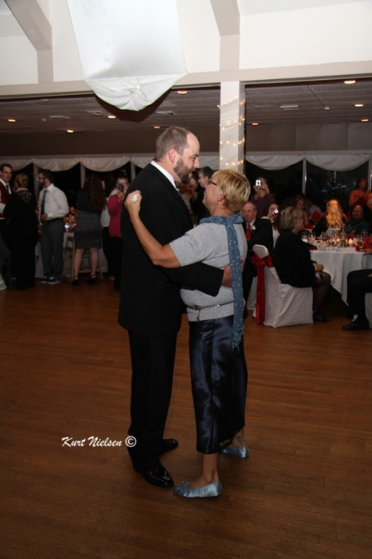 Mother Son Dance at weddings