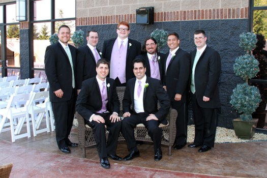 Formal Photos of the Groomsmen