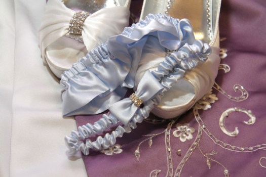 Blue Wedding Garter