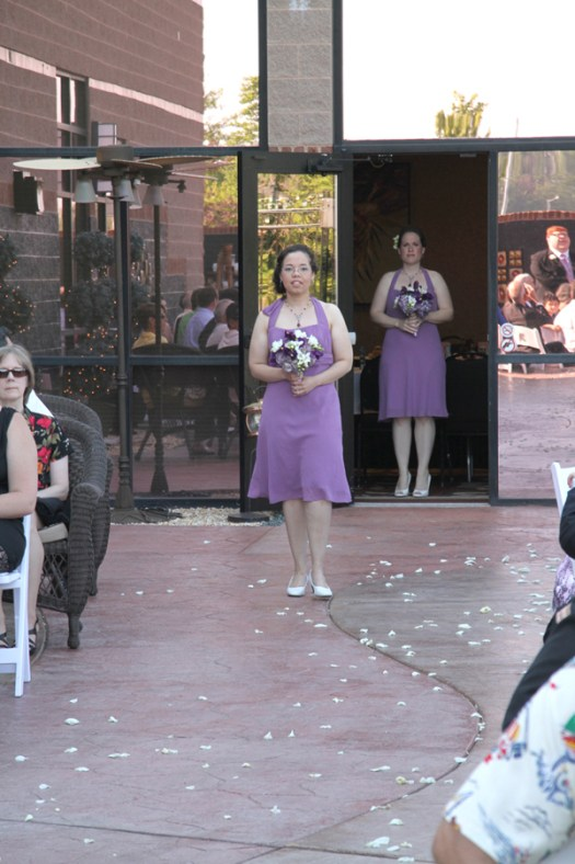 Wisteria Purple Bridesmaids Dresses