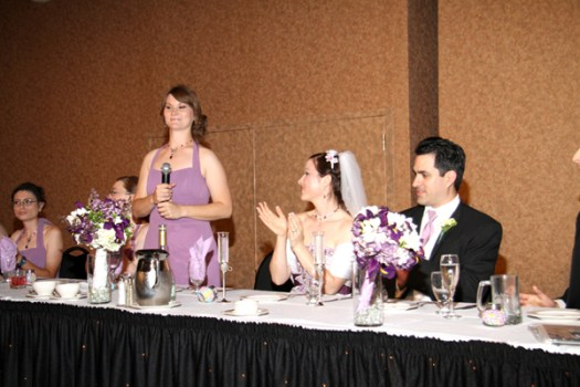 Maid of Honor toast