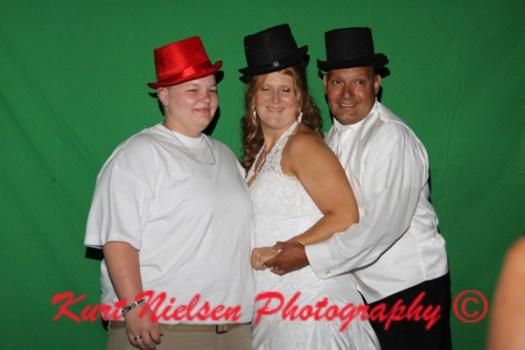 green screen wedding photography