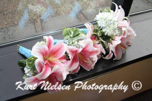 asiatic lilies for bridesmaids bouquets