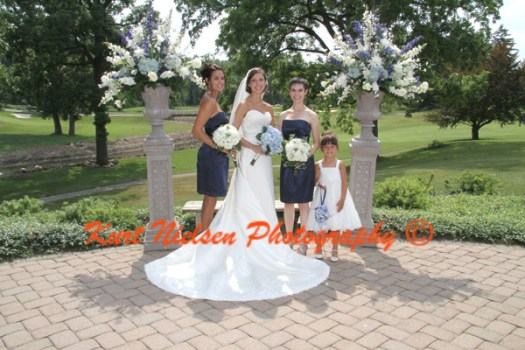 short navy blue bridesmaids dresses
