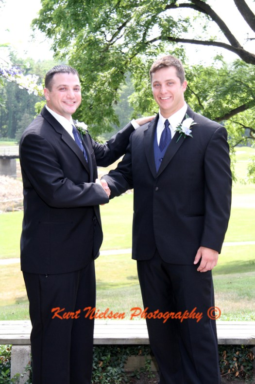 formal wedding photos with the groom