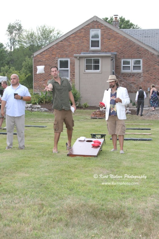 things to do at a backyard wedding