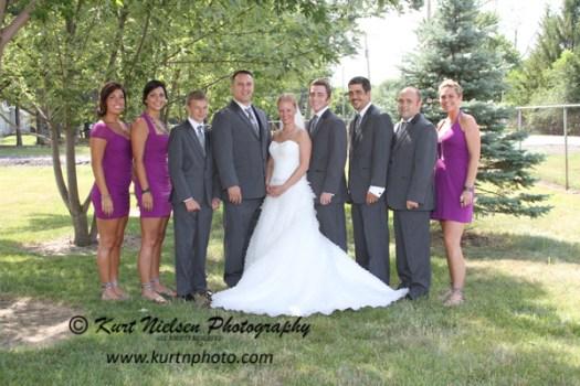 unusual bridal party members