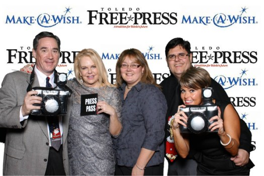 toledo free press photo booth