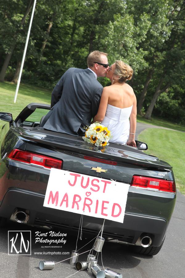 gettaway car for wedding