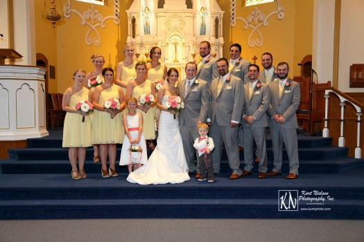 Church Wedding Photographer in Toledo