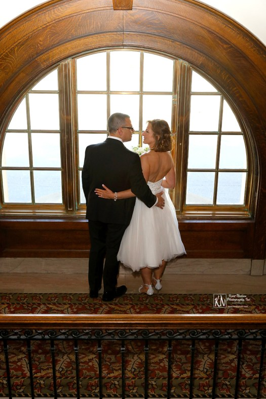 Wedding photographer downtown Toledo