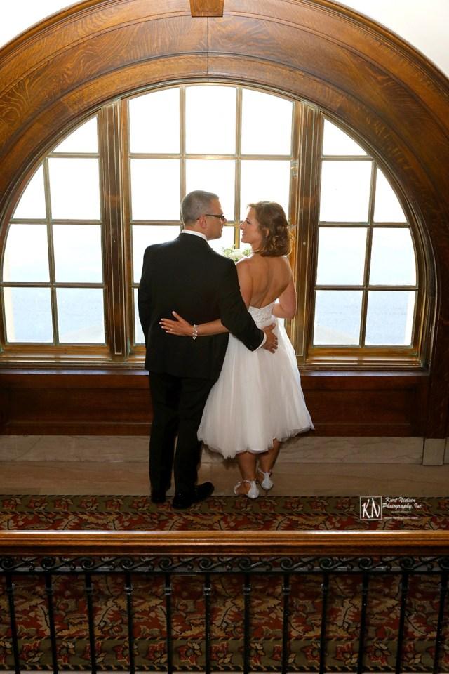 Wedding photographer downtown Toledo