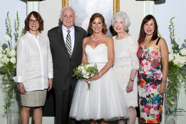 the bride's family