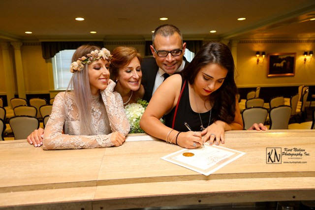 singing the marriage license