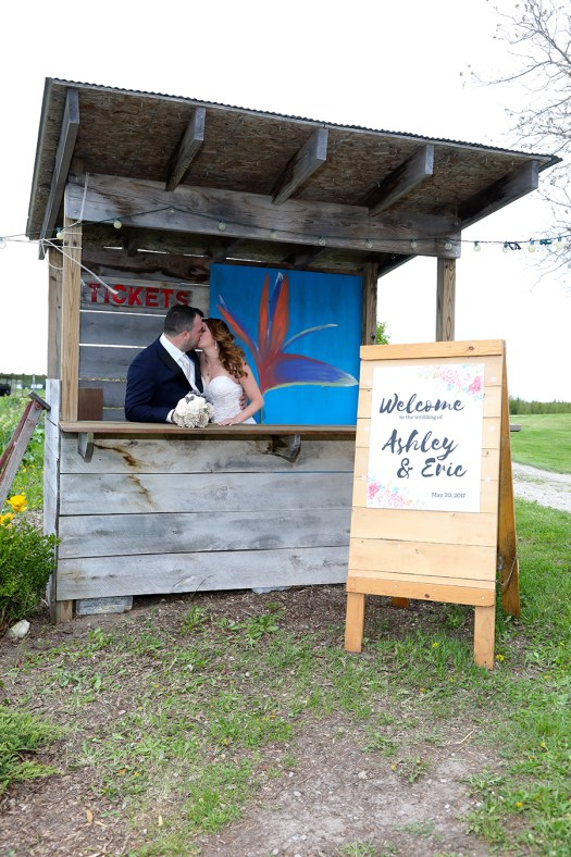 Dhaseleer Events Barn Ticket Booth