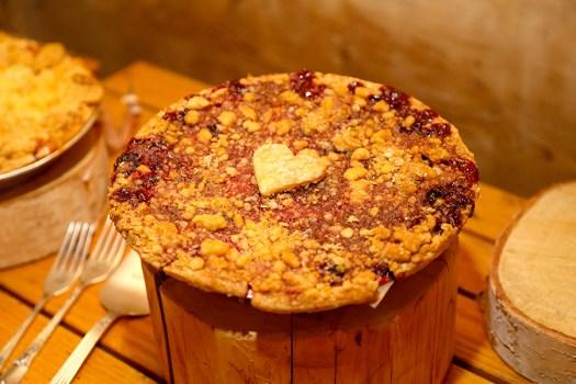 michigan berry pie from Grand Traverse Pie Company