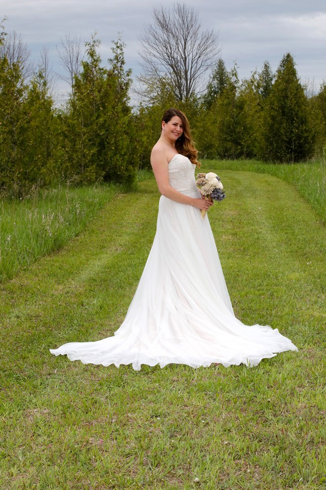 strapless bridal gown from Atlas Bridal Shop