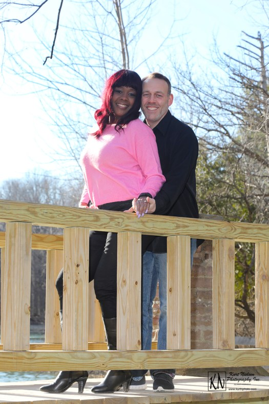 engagement photography in march at pearson metropark