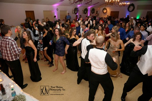 crowded dance floor