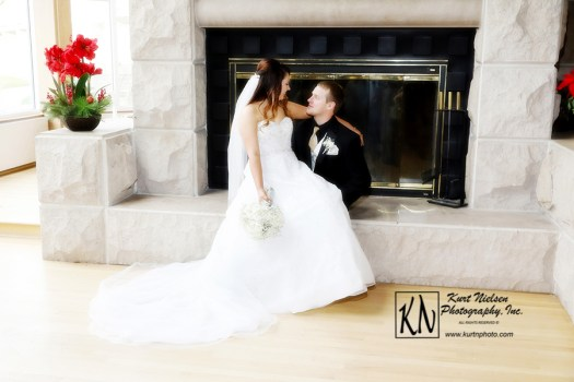 wedding portraits by Kurt Nielsen Photography