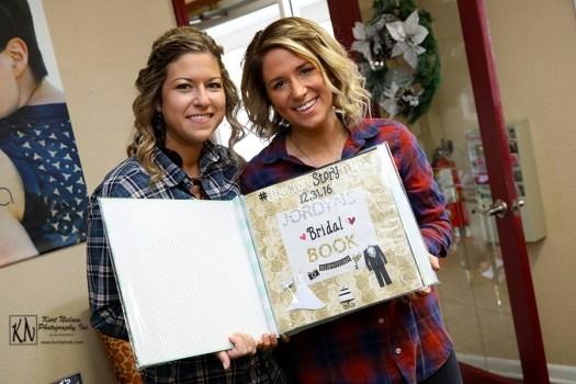 bridesmaids scrapbook gift