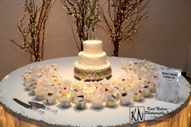 Michael's Cafe Wedding cake