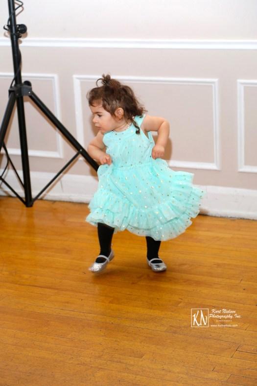 children dancing at weddings