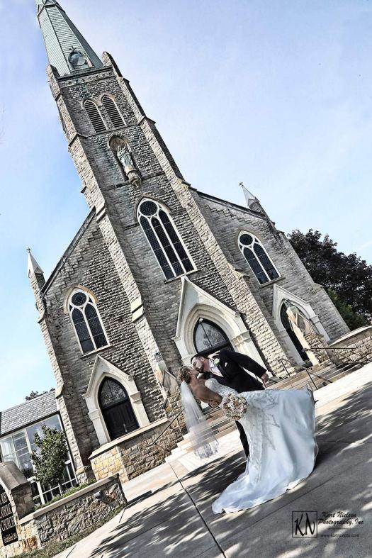 St. Rose Catholic Church Wedding Photographer - Kurt Nielsen Photography