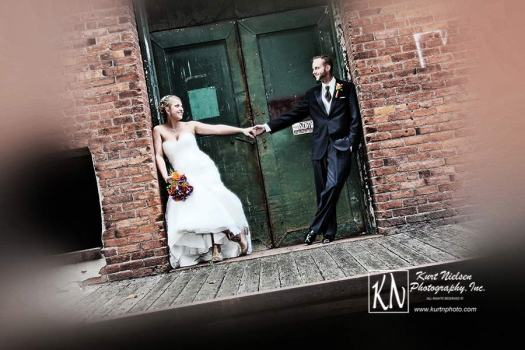 Downtown Toledo Wedding Photography by Kurt Nielsen Photography