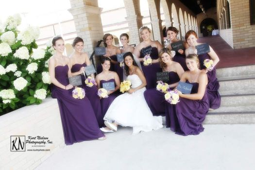 How did you meet your bridesmaids photo ideas