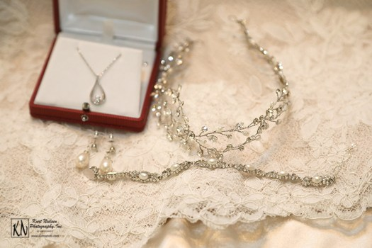 bridal jewelry from Something White Bridal Salon