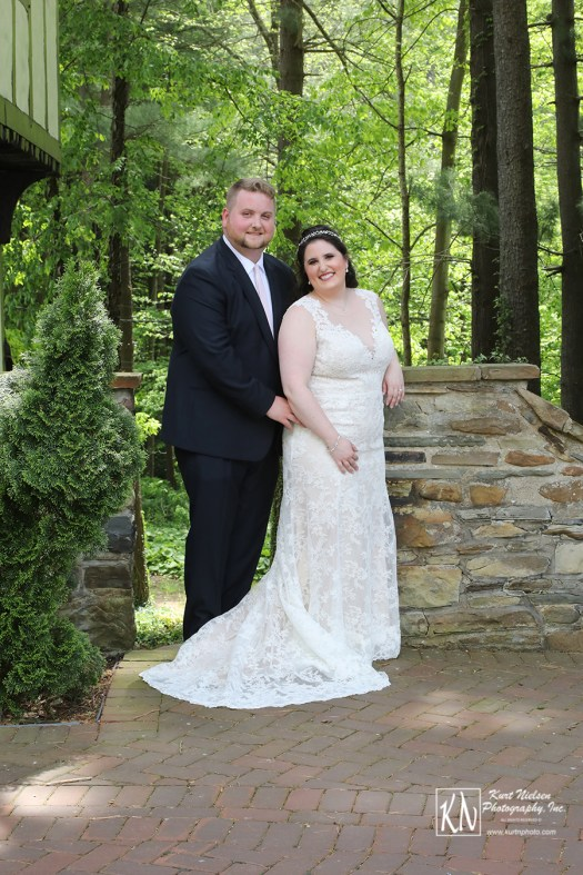 fairytale wedding in the woods at the Club at Hillbrook