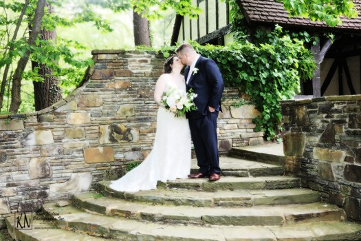 romantic garden-inspired destination wedding in Cleveland