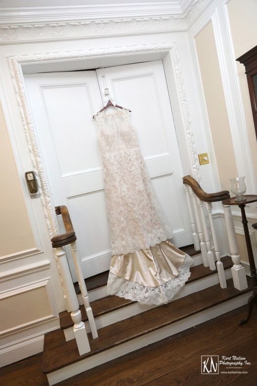 lace wedding dress designed by Watters at Something White Bridal Salon