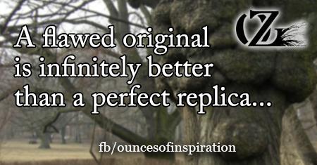 Don't be a replica