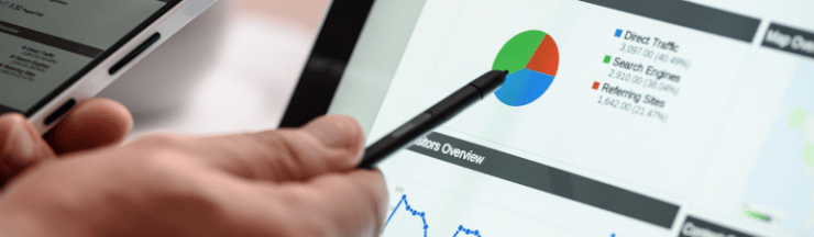 Google analytics and search console data can help with your marketing