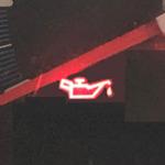 オイルプレッシャーランプ警告灯1