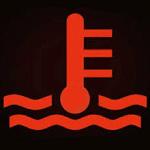 水温計マーク 赤