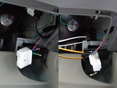 キーレスエントリー DA17V ドアロック配線 接続