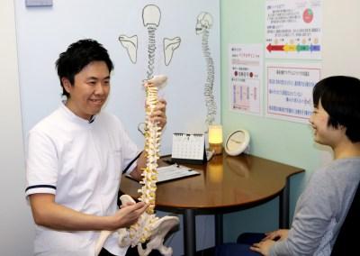 右京区肩こり腰痛治療画像