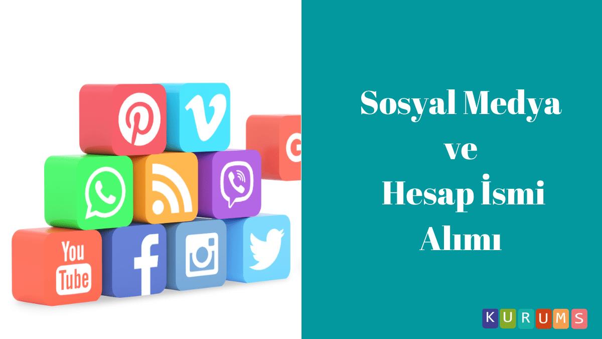Sosyal medya ve hesaplar