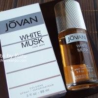 JOVAN(ジョーバン)の『WHITE MUSK for man(ホワイトムスク フォーメン)』を購入♪